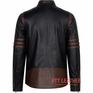 Áo da Racer Jacket Wonverine X-men – MS MJ02BL A7