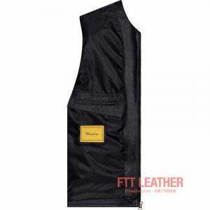 Áo da bò Classic Tanning Leather- MS CL04BL U5