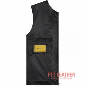 Áo da Motorcycle Jacket - MS MJ04BL2 U5