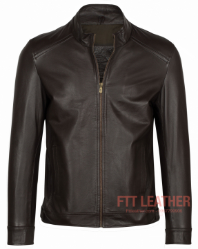 ÁO DA BÒ FTT LEATHER DA NAPPA
