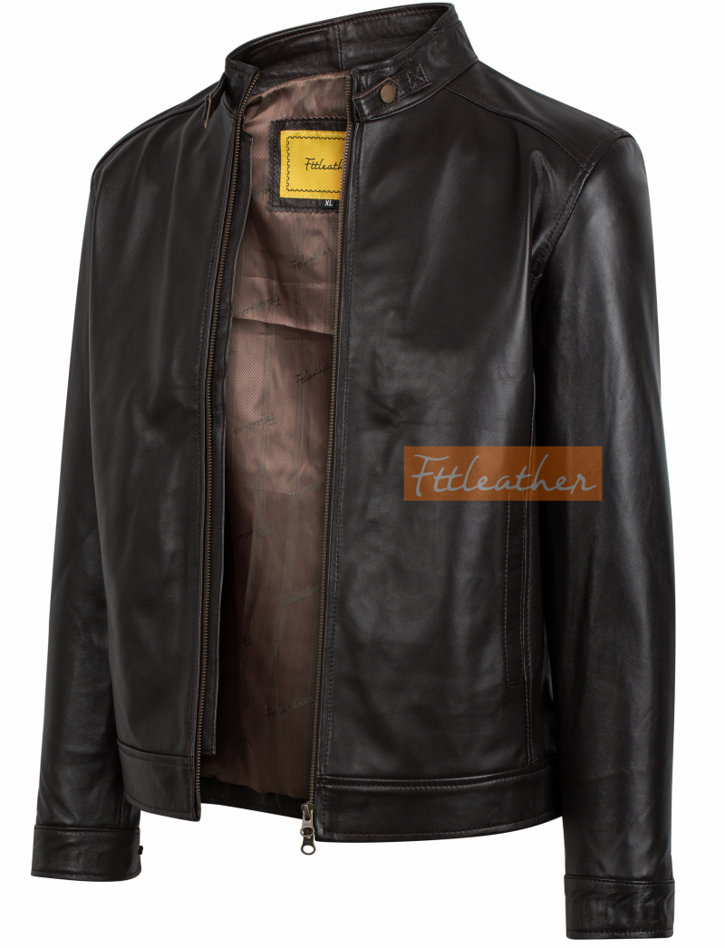 Classic Racer Jacket cổ khuy -  S2018 - 2002C41
