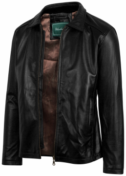 Classic Collar Jacket - Áo da cừu cổ bẻ cổ điển mã 101345BL2018 - U5