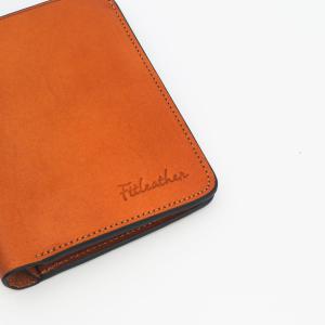 Ví da màu vàng bò – FTT Leather mã V01020255BR