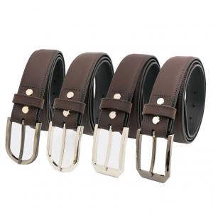 Thắt lưng nam da bò khóa kim FTT Leather mã DF33920102CH