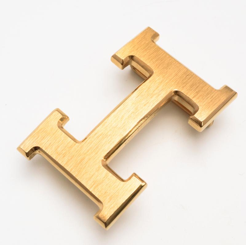 Mặt thắt lưng chữ H cho dây lưng da thật FTTLEATHER mã MTLB10
