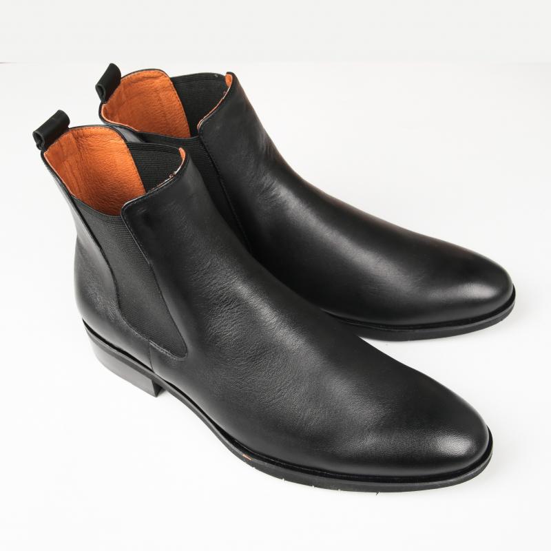 Giày Chelsea boot nam dáng trơn FTT Leather