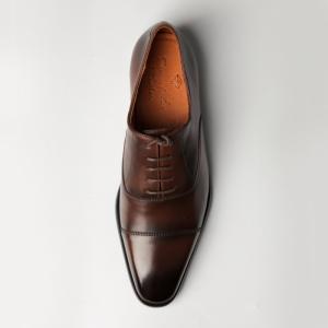 Giày công sở captoe màu nâu đen nam tính F201941