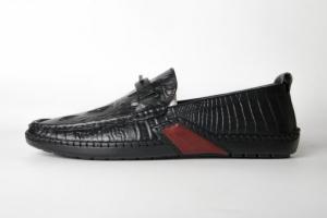 Giày lười da dập vân cá sấu FTT Leather F029540