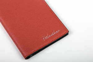 Ví Card Saffiano Màu Đỏ