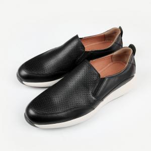 Giày da nam thật màu đen F207240