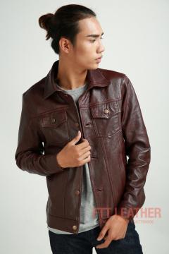 Áo da Classic Jacket – MS CL02PP - A2017
