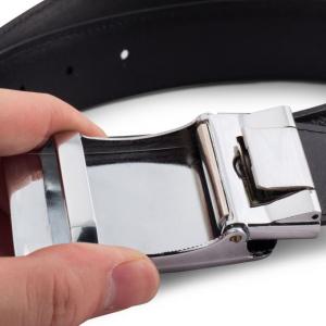 Thắt lưng da bò mặt kính dây Epsom - S03T42