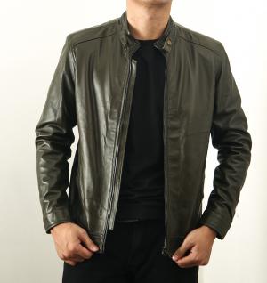 Áo da thật giá rẻ dành cho học sinh, sinh viên RushV-B2020 Ftt leather