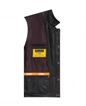 [S2020] Áo da túi hộp đen Trucker Jacket FTT leather S2020 - Mã 4003b40