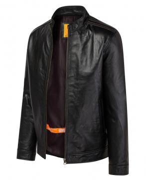 Áo da bò Racer Jacket - S2020 Trám vai