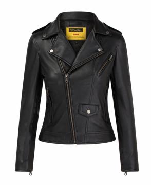 [S2020] Áo da nữ Classic biker Jacket M01D401220