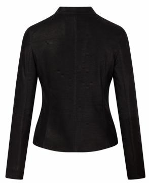 Áo da nữ dáng Racer Jacket - S2020 - Da dê dập vân - Mã M04DV