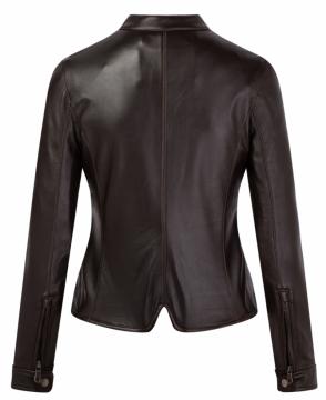 Áo da cừu nữ dáng Racer Jacket - S2020 - Mã M04C/M03C