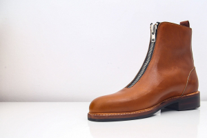 Boot da nam da bò mộc màu vàng bò S2020 - FTT leather