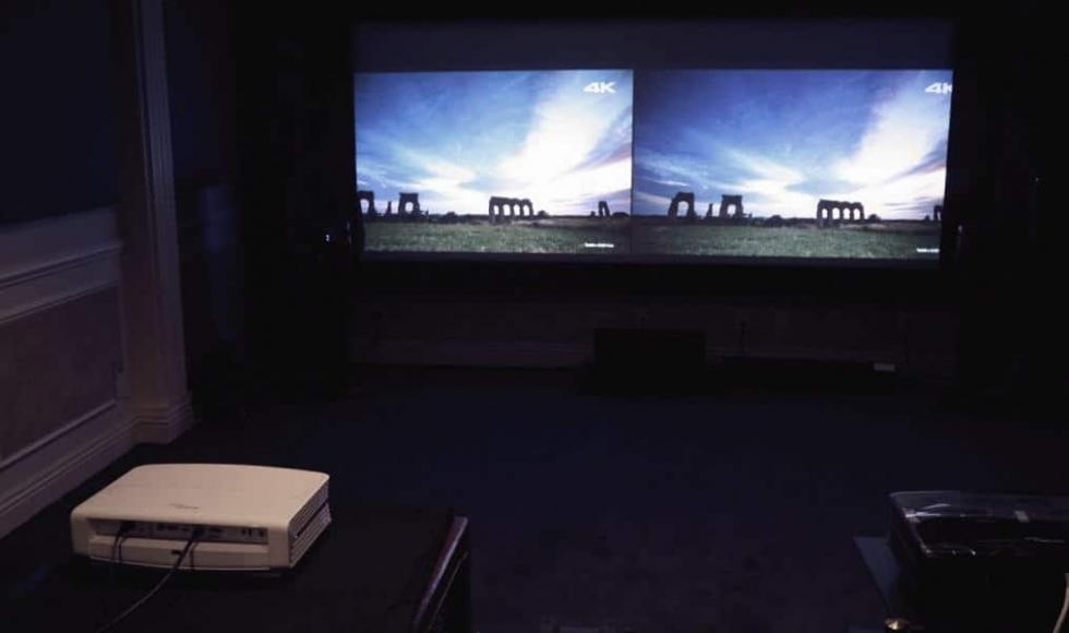 Đánh giá máy chiếu 4K hãng Optoma UHD50 mới nhất dành cho phòng chiếu phim gia đình