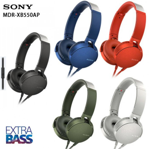 Tai Nghe Extra Bass Sony MDR-XB550AP