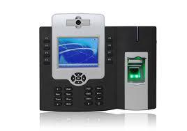 Máy chấm công vân tay và thẻ cảm ứng Granding TFT 800