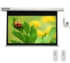 Màn chiếu điện điều khiển từ xa Regent 100 inch (16:9)
