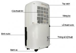 Máy hút ẩm FujiE HM-918EC