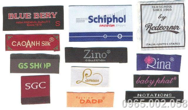 Vì sao bạn nên chọn in ấn Liên Hương làm nơi in nhãn mác may mặc