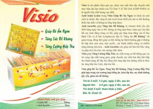 Cốm VISIO (hộp 50 gói)