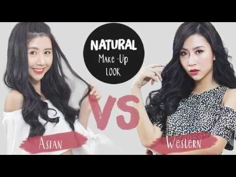 Quynh Anh Shyn - Makeup#38: NATURAL LOOK: Western VS Asian
