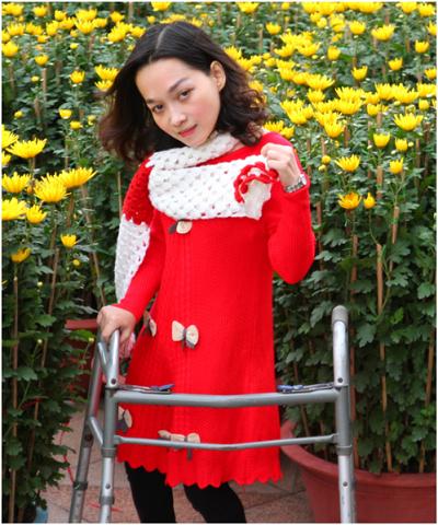 Trần Trà My - Nhà văn khuyết tật không đầu hàng số phận