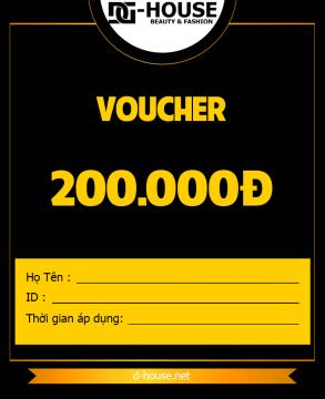 DHOUSE - VOUCHER - 200K