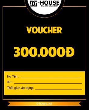 DHOUSE - VOUCHER - 300K