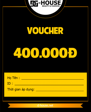 DHOUSE - VOUCHER - 400K