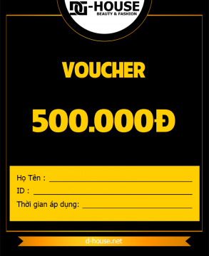 DHOUSE - VOUCHER - 500K