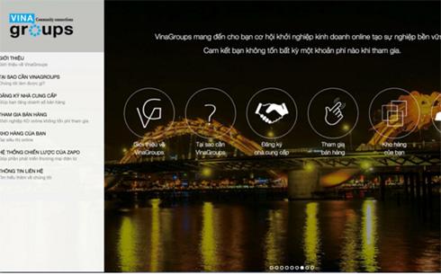 Vinagroups vừa ra mắt Cộng Đồng Việt nhằm cung cấp giải pháp hỗ trợ doanh nghiệp kinh doanh online không tốn phí.