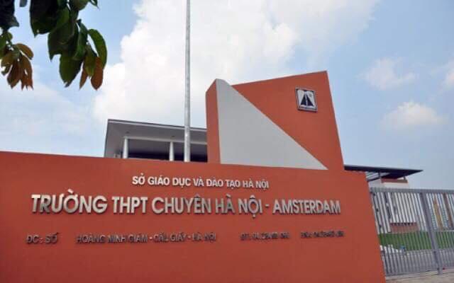 Lớp SpeedReading tại trường THPT chuyên Hà Nội - Amsterdam