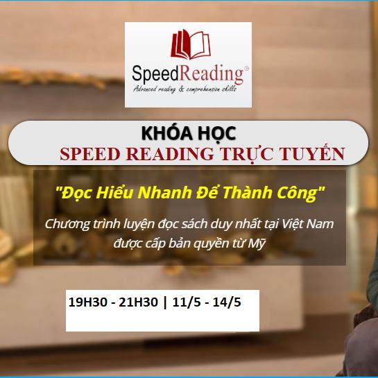 Lịch học khóa Speedreading TRỰC TUYẾN SRZOOM02