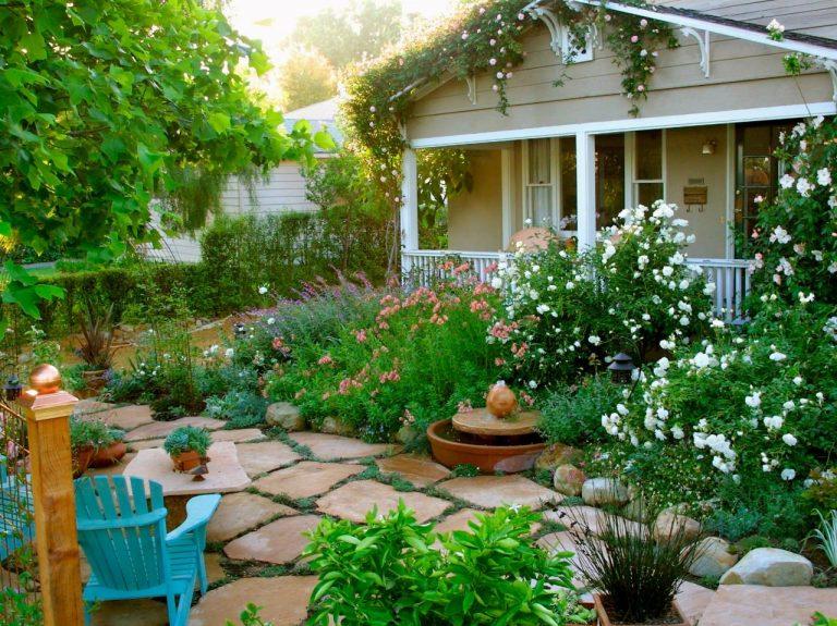 Đá tự nhiên lát sân vườn 25