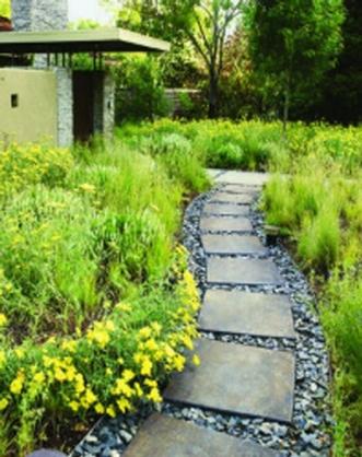 Đá tự nhiên lát sân vườn 28