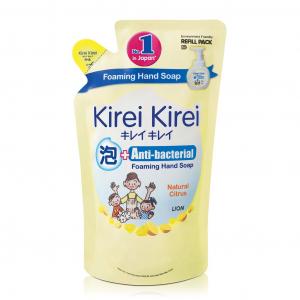 Bọt rửa tay Kirei Kirei hương chanh 200ml