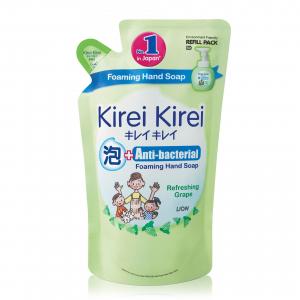 Bọt rửa tay Kirei Kirei hương nho 200ml