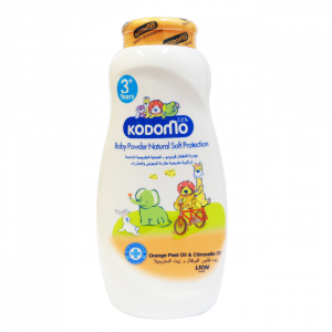 Phấn rôm Kodomo Natural Soft Protection 200g (dưỡng ẩm và ngăn côn trùng)