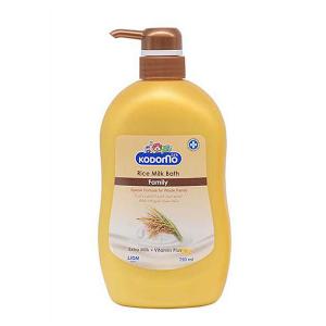 Sữa tắm sữa gạo Kodomo Rice Milk Family 750ml