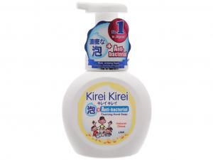 Bọt rửa tay Kirei Kirei hương chanh 450ml