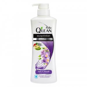 Dầu gội Q'lean Soft & Smooth 340ml (ngăn gàu và nuôi dưỡng tóc suôn mượt)