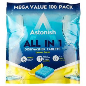 Viên rửa chén Astonish all in 1 (gói 42viên)