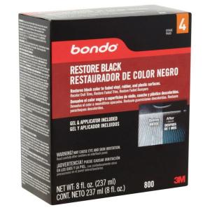 Dung dịch phục hồi nhựa đen 3M Bondo Restore Black 237ml