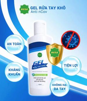 Gel rửa tay khô diệt khuẩn Hera 100ml